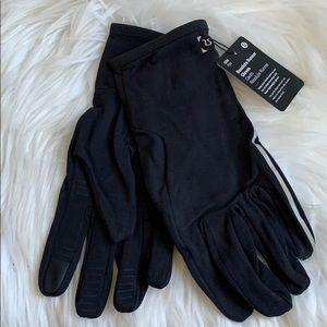 Lululemon men's Resolute Runner Gloves Black S/M
